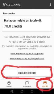 wipi-crediti-utente