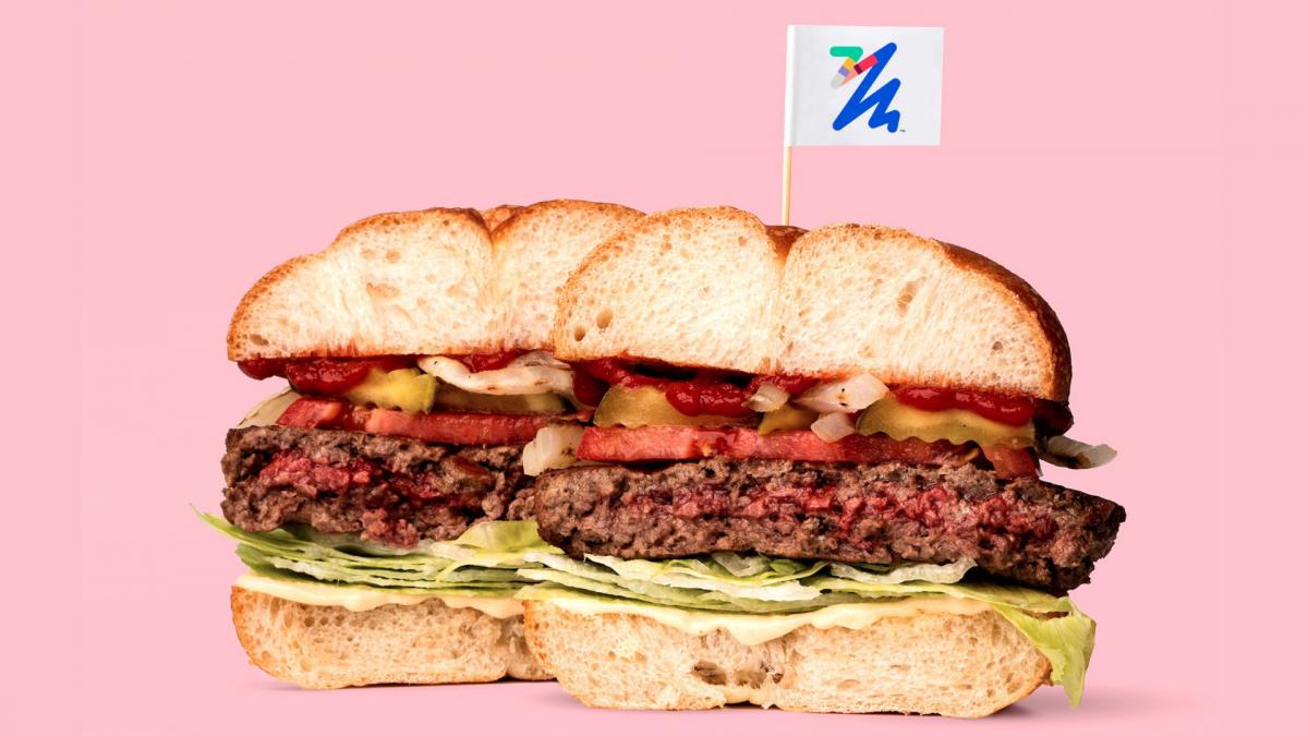 Il cibo del futuro? L'hamburger 100% vegetale che sa di carne!